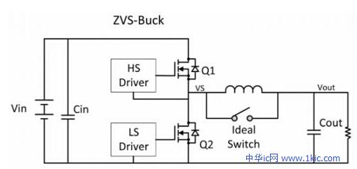 图12(ZVS降压拓扑结构)