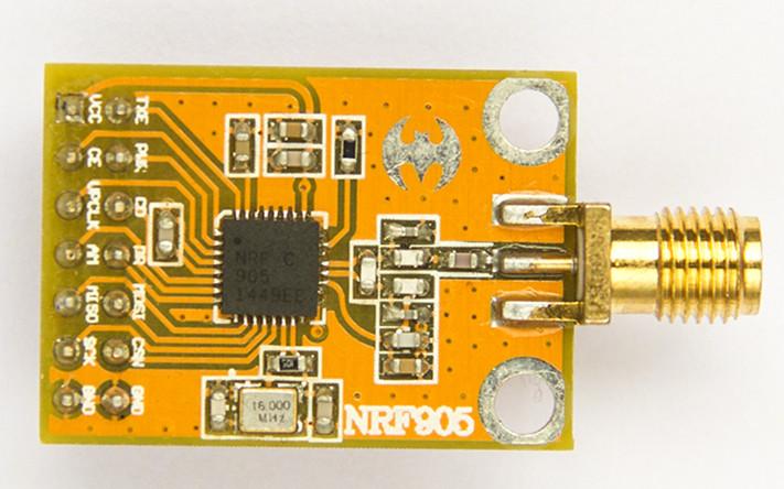 zq-nrf905无线模块
