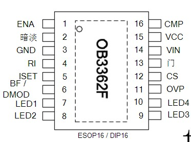 ob3362vp-led电视ob3362vp背光脚-ob5269cp通病-obrp