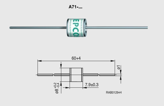 陶瓷气体放电管T83
